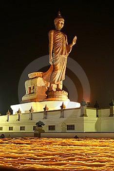 The Buddha On Fire III Royalty Free Stock Photo - Image: 13767385