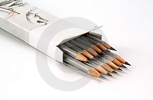 Graphite Pencils Stock Photography - Image: 13769492