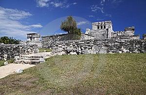 Tulum Ruins Stock Images - Image: 13770384
