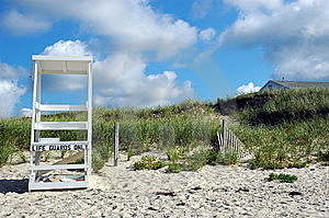 Beach Scene Cape Cod Stock Photography - Image: 13772052