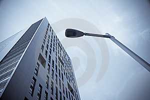 Modern Building And Lighting Royalty Free Stock Image - Image: 13773266