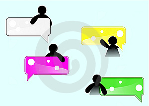 Small Man Grab Tag Icon Royalty Free Stock Photography - Image: 13773577