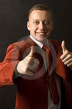Happy And Successful Businessman Royalty Free Stock Photos - Image: 13773588