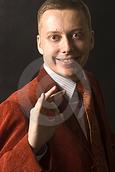 Happy And Successful Businessman Royalty Free Stock Photography - Image: 13773597