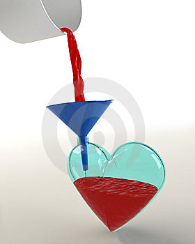 Fill The Heart. Save A Life Stock Images - Image: 13776654