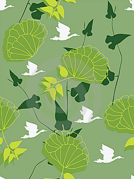 Seamless Floral Background Stock Images - Image: 13776744
