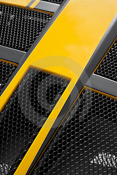 Sports Car Grille Stock Images - Image: 13777204