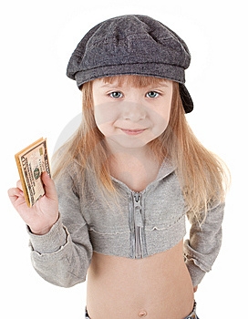Child In Cap Royalty Free Stock Images - Image: 13778969
