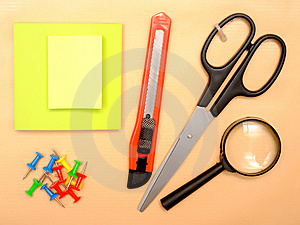 Office Objects Royalty Free Stock Image - Image: 13779056