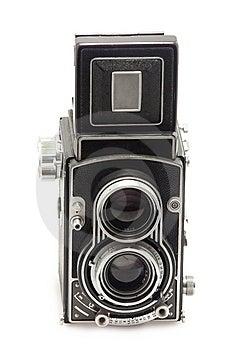 Tlr Photo Camera Royalty Free Stock Image - Image: 13780996