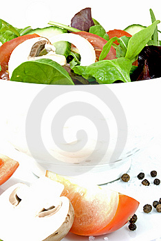 Fresh Salad Stock Images - Image: 13781084