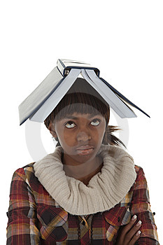 Student Book Head Stock Photos - Image: 13781303