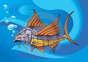 Mechanical Fish Stock Photo - Image: 13781420