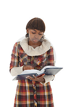 Student Reading Royalty Free Stock Images - Image: 13781959