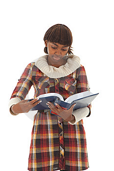 Student Read Stock Photo - Image: 13781970