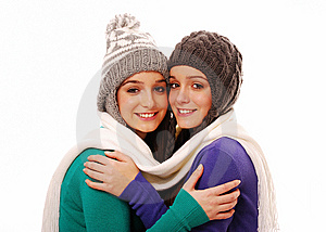 Woman Winter Royalty Free Stock Photo - Image: 13782865