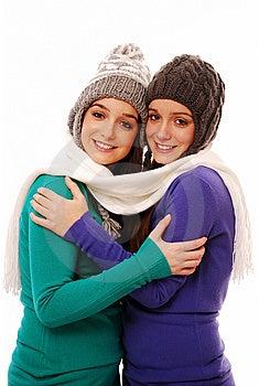 Woman Winter Stock Image - Image: 13782891