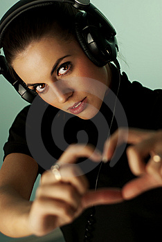 I LUV MUSIC Royalty Free Stock Photography - Image: 13782927