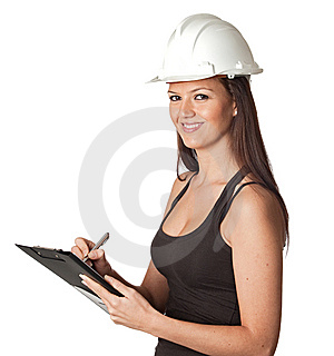 Attractive Young Engineer Stock Image - Image: 13783051