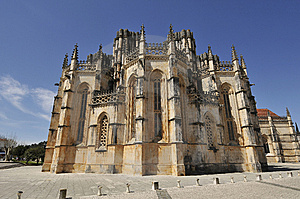 Monastery Batalha Royalty Free Stock Photos - Image: 13784318