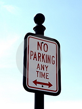 No Parking Any Time Stock Photos - Image: 13784463