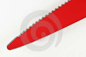 Dual Edges Nonstick Knife Royalty Free Stock Image - Image: 13784776