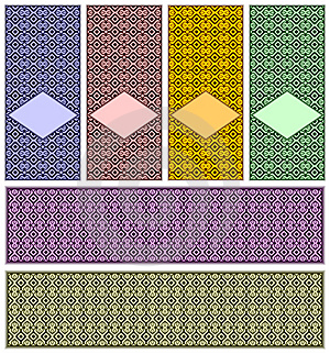 Complete Set Of Patterns. Royalty Free Stock Images - Image: 13785219