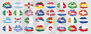 National Flags Of Countries Royalty Free Stock Photos - Image: 13786138