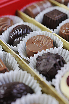 Chocolate And Praline Stock Photography - Image: 13787782