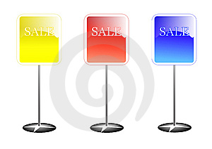 Colorful Sale Stands Stock Photography - Image: 13788882