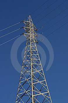Big Electricity Post Stock Photo - Image: 13789090