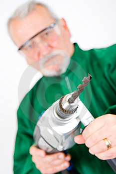 Drilling Royalty Free Stock Photo - Image: 13790165