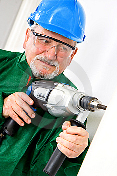 Drilling Royalty Free Stock Image - Image: 13790176
