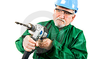 Drilling Royalty Free Stock Photography - Image: 13790187