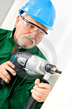 Drilling Royalty Free Stock Photo - Image: 13790225