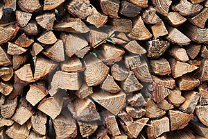 Pile Of Firewood Royalty Free Stock Photos - Image: 13790498