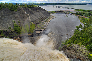 Montmorency Falls, Quebec, Canada Royalty Free Stock Photography - Image: 13792547