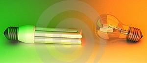 Light Bulbs Stock Images - Image: 13792574