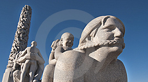 Sculpture In Oslo, Norway Stock Photography - Image: 13792812