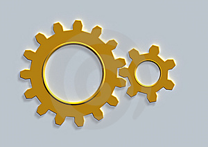 Gear Wheel Royalty Free Stock Image - Image: 13795666
