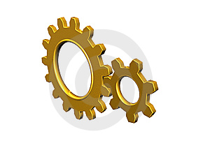 Gear Wheel Stock Photo - Image: 13795680
