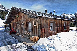Snow On The Dolomites Mountains, Italy Stock Photos - Image: 13796223