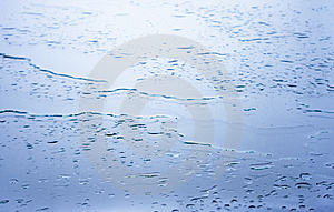 Wet Glass Surface Stock Photography - Image: 13796382