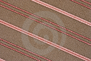 Striped Fabric Background Royalty Free Stock Photos - Image: 13796438
