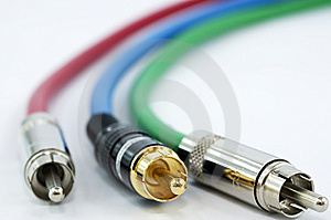 Component Video Cable Royalty Free Stock Photos - Image: 13796818