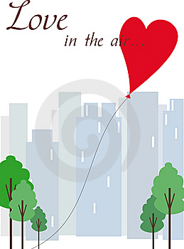 Love In The Air Royalty Free Stock Image - Image: 13797036
