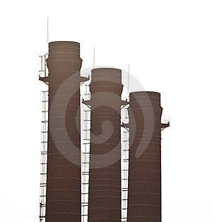 Three Chimneys Stock Image - Image: 13797321