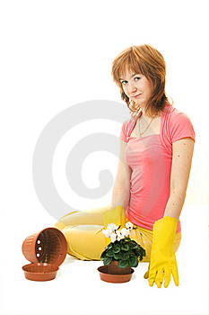 Home Gardening Royalty Free Stock Photo - Image: 13798215