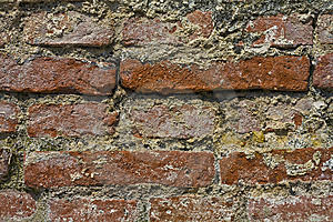 Roman Brick Wall Royalty Free Stock Image - Image: 13798496