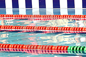 Pool Ready For Competition Royalty Free Stock Image - Image: 13799536